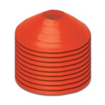 Marker Disc Colors Orange Set of 10