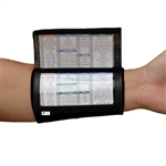 (10) Pack - Youth Playbook Wristband - Wrist Coach X100