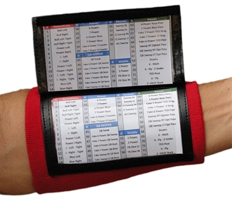 Adult Playbook Wristband - Wrist Coach X200 - Various Colors